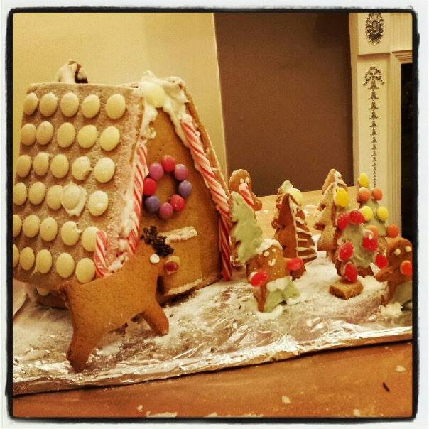 Pia's Gingerbread house