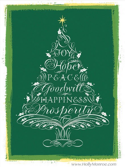 Joy, Hope, Peace, Goodwill, Happiness and Prosperity