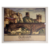 Durham Bridge Railway Print