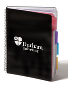 4 Subject A5 Notebook Black