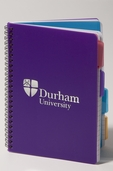 4 Subject A5 Notebook Purple