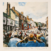 Stephen Ward Summer Parade Watercolour