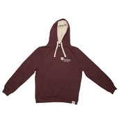Fairtrade Chunky Hoody Plum