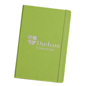 Elasticated A5 Notebook Green