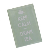 Keep Calm & Drink Tea Magnet