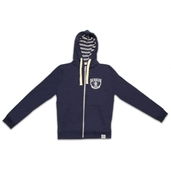 Navy Lightweight Zip Up Hoody