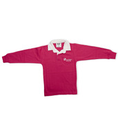 Kids Rugby Shirt Pink