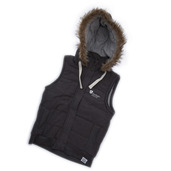 Womens University Gilet Denim