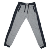 Contrast Panel Sweatpants - Charcoal/Grey