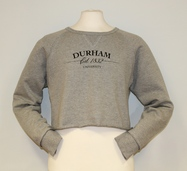 Fairtrade Women's Chelsea Cropped Sweatshirt - Grey