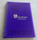 Durham University Academic Diary - Purple