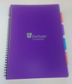 University A4 4-Subject Notebook - Purple