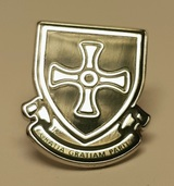 St Cuthbert Pin badge