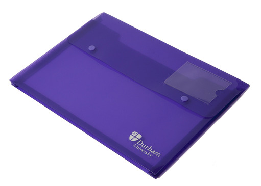 Double Stud Wallet Purple