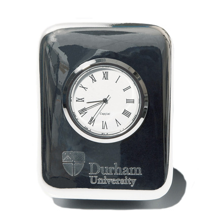 Silver Plated Desk Clock
