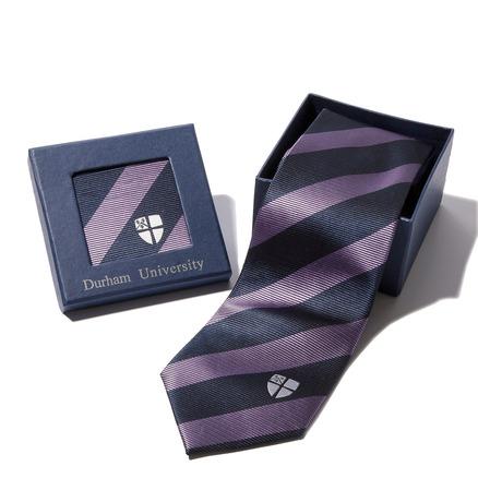 University Crest Silk Tie