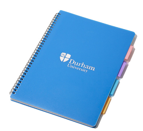 4 Subject A4 Notebook Blue