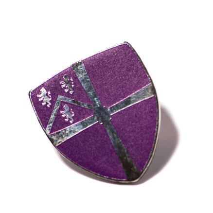Enamel Crest Pin Badge