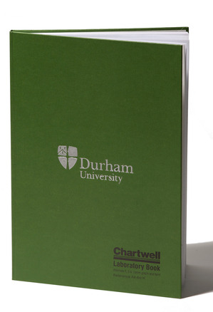 Chartwell Hardback Lab Book Green