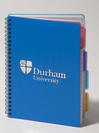 4 Subject A5 Notebook Blue