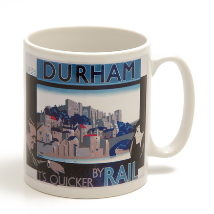 Durham: Quicker By Rail Mug