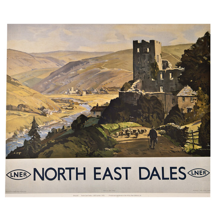 North East Dales Railway Print