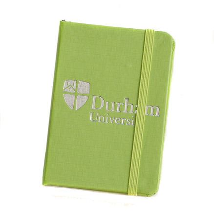 Elasticated Pocket Notebook Green