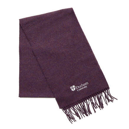Lambswool Scarf Purple