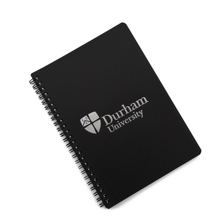 A5 Polyprop wiro notebook Black