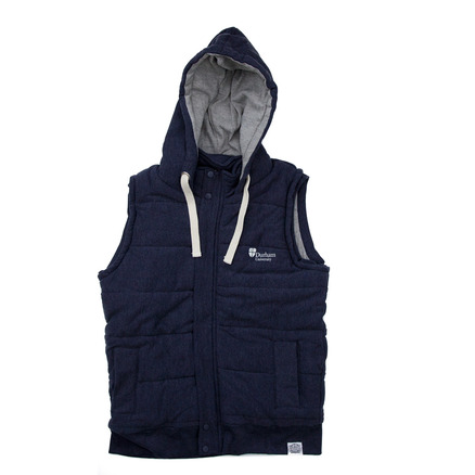 Mens University Gilet Denim