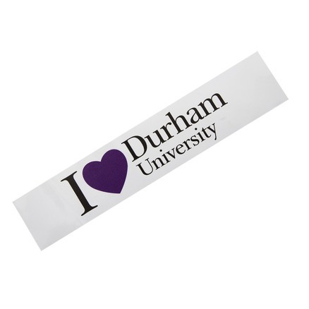 I love Durham University Bumper Sticker