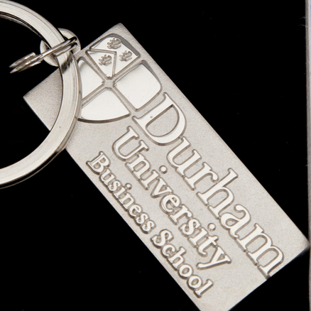 Durham University Business School Boxed Keyring