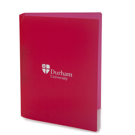 Polyprop A4 Ring Binder Red