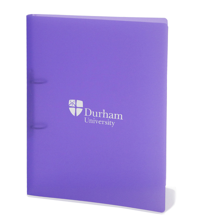Polyprop A4 Ring Binder Purple