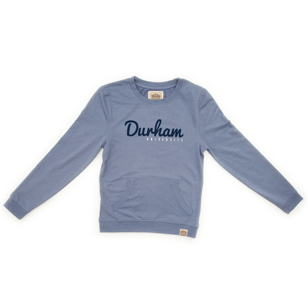 Kangaroo Pocket Sweatshirt - Light Blue