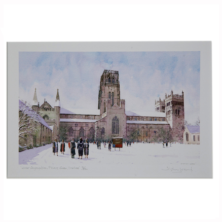 Stephen Ward Palace Green in Winter Watercolour