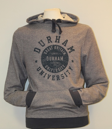 Fairtrade Flecked Hoody - Denim