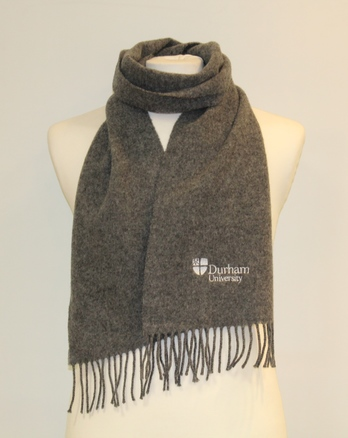 Lambswool Scarf Charcoal