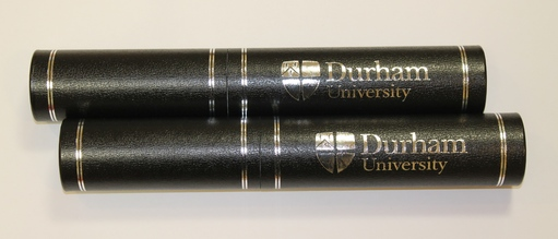 Luxury Parchment Tube - Black
