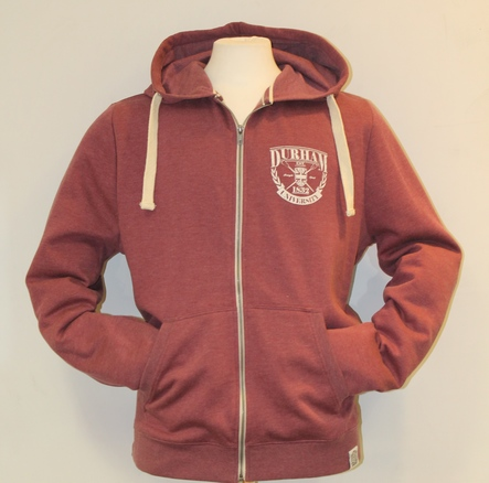 Fairtrade Lightweight Hoody - Burgundy