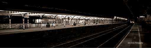 Durham Railway Station Print - Small