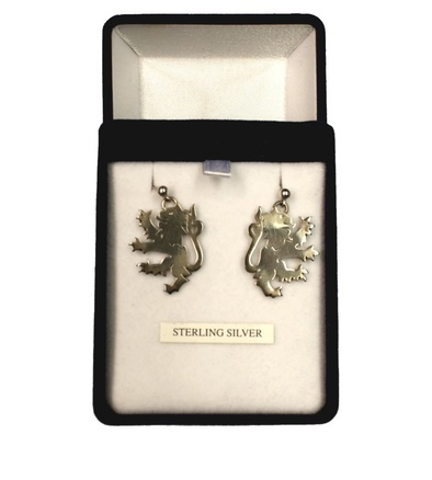 Hatfield College Sterling Silver Earrings