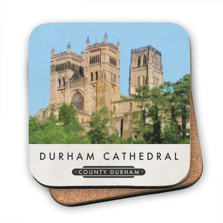 Durham Cathedral Cork Coaster