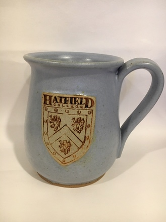 Hatfield College Mug - Pale Blue