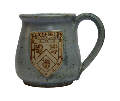 Hatfield College Espresso Cup - Speckled Blue