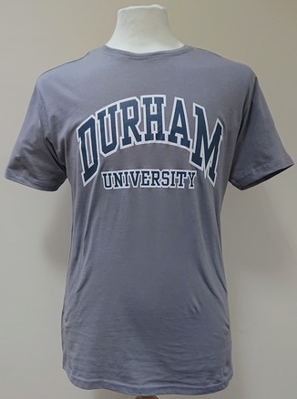 Durham University Drop Tail T-Shirt - Grey