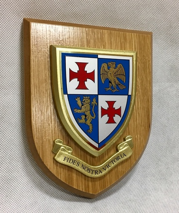 St John's College Wall Shield
