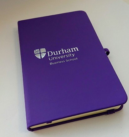 Durham University Business School A6 Purple Notebook