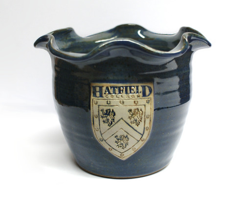 Hatfield College Plant Pot