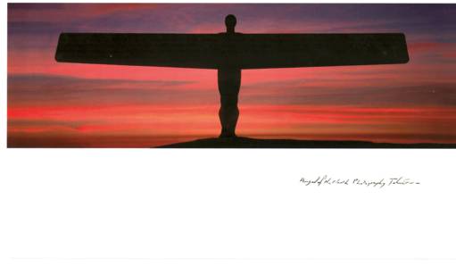John Erwin Card - Angel of the North